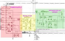 Sansui 771 Power Supply Regulator Speaker Relay Driver